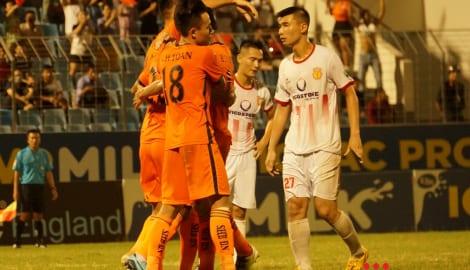 Hàng thủ tệ nhất V.League 2018, nguy cơ rớt hạng của Nam Định rất cao