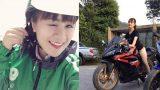 Than vãn ế khách 2/9, nữ tài xế Grabbike xinh đẹp gây sốt