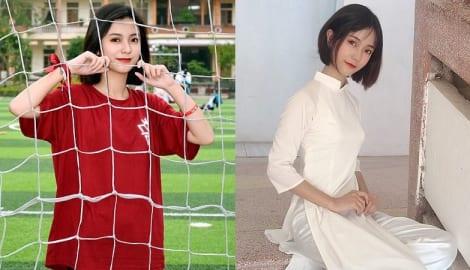 """Nữ sinh Nam Định được báo Trung gọi là """"cực phẩm hot girl"""""""