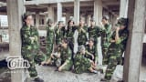 Học sinh Nam Định làm clip kỷ yếu gay cấn như phim hành động