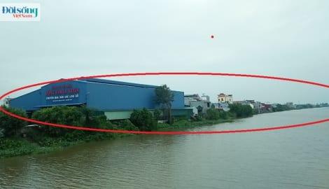 Huyện Ý Yên, Nam Định: Bờ sông Sắt đang bị lấn chiếm nghiêm trọng
