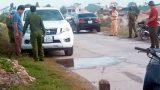Thông tin mới nhất về vụ Thượng úy Công an tử vong trong xe ô tô
