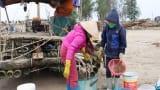 Cận cảnh ngư dân Hải Triều trúng đậm tôm biển