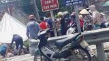 Nam Định: Tàu hỏa tông tử vong nữ y sĩ đi xe máy băng qua đường sắt