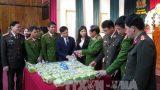 Cận Tết, Nam Định bắt vụ vận chuyển 45 kg ma túy đá và 30 bánh heroin
