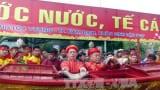 Lễ rước nước, tế cá tại hội đền Trần Nam Định 2017