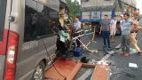 Tạm giữ hình sự tài xế xe khách Limousine gây tai nạn khiến 2 người tử vong