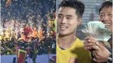 Truyền thông Trung Quốc ấn tượng hình ảnh CĐV Nam Định rút 100 triệu thưởng cầu thủ