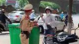 Khởi tố lái xe nghiện ma túy vượt đèn đỏ, tấn công CSGT