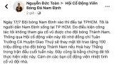 Cổ động viên Nam Định treo thưởng lớn cho đội nhà nếu đánh bại Sài Gòn