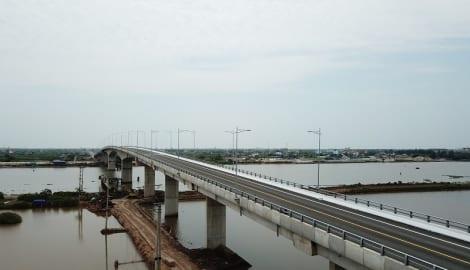 Thông xe, đưa vào khai thác cầu Thịnh Long – Nam Định trị giá 1.158 tỷ đồng