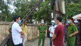 Đồng chí Phó Chủ tịch UBND huyện Hải Hậu kiểm tra công tác phòng chống dịch bệnh COVID -19
