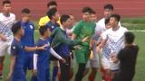Đá tập, cầu thủ Nam Định và Phú Thọ liên tục xô xát