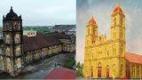 Giáo dân Bùi Chu ủng hộ xây lại nhà thờ theo kiến trúc cũ