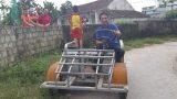 """Clip: Ngắm chiếc xe """"ô tô mui trần"""" do 1 nông dân Nam Định chế tạo"""