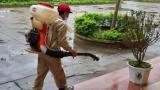 Nam Định: 33 điểm thi đã được phun thuốc khử khuẩn