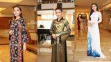 Dàn hoa hậu, á hậu Việt Nam đọ sắc tại sự kiện công bố cuộc thi Hoa hậu Việt Nam 2018