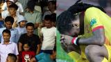 CĐV Nam Định bỏ ra về sớm vì đội nhà thua TP.HCM