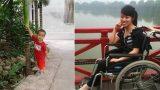 Trực Ninh: Nghị lực của mẹ đơn thân 11 năm bại liệt, vì con chập chững từng bước đi đau đớn