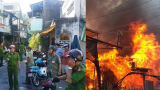 3 mẹ con tử vong thương tâm trong căn nhà cháy rụi ở Nam Định