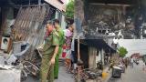 Hiện trường vụ cháy kinh hoàng khiến 3 mẹ con tử vong thương tâm