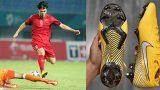 Bí mật về đôi giày vàng Công Phượng đi khi ghi bàn thắng giúp Việt Nam vào tứ kết ASIAD