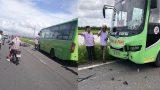 Nam Định: Xe máy đâm trực diện xe khách, 2 nam thanh niên tử vong