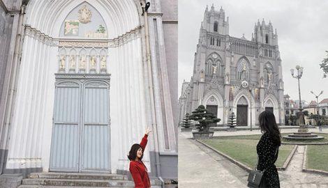Lạc bước vào trời Tây tại 4 nhà thờ đẹp quên lối về ở Nam Định