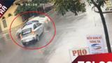 Hai ôtô tông nhau làm sập nhà dân tại Nam Định