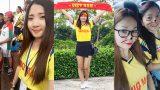 """V-League 2018 sắp trở lại, các """"bóng hồng"""" Nam Định xinh đẹp hết nấc đốn tim fan trên khán đài"""