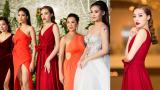 Hoa hậu Kỳ Duyên tái ngộ MC Kỳ Duyên tại Sài Gòn