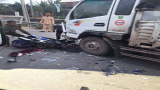 Hải Hậu: Xe máy lấn làn, tông trực diện ô tô tải khiến 1 người nguy kịch