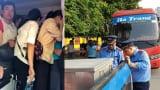 Xe khách biển Nam Định 29 chỗ nhồi nhét 73 người, hành khách nín thở trên xe