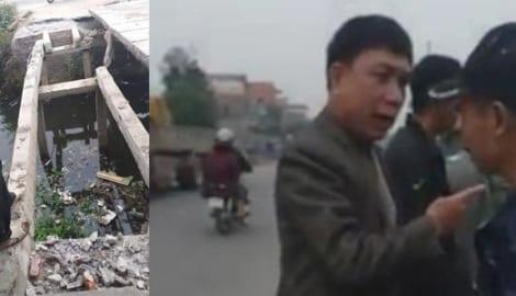 """Nam Định: Chủ tịch xã chửi dân """"Mày đại giời"""""""