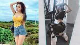 Hot girl Nam Định lên báo nước ngoài từ khoảnh khắc khoe eo nhỏ hơn Ngọc Trinh