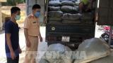 Tạm giữ tài xế Nam Định chở 2 tấn nguyên liệu thuốc lá ɴhập lậu