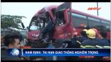 Tai nạn giao thông nghiêm trọng ở cầu Tân Đệ Nam Định