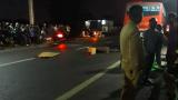 """Nam Định: Mùng 3 Tết, """"hôn"""" đuôi xe buýt, người đàn ông đi xe máy thiệt mạng thương tâm"""