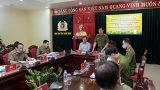 Thứ trưởng Nguyễn Duy Ngọc kiểm tra công tác tại Công an tỉnh Nam Định