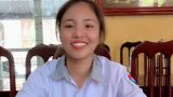 Nữ sinh Nam Định là thủ khoa khối C