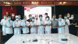 Hơn 20 bác sĩ, điều dưỡng 4 tỉnh tham gia phòng, chống dịch tại Bắc Ninh