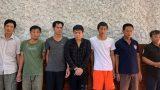 Bắt nhóm thợ xây quê Nam Định đang 'sát phạt' trong lán công nhân
