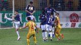 """Bị dẫn 3 bàn, Hà Nội FC cầm hòa Nam Định với kịch bản """"không tưởng"""""""