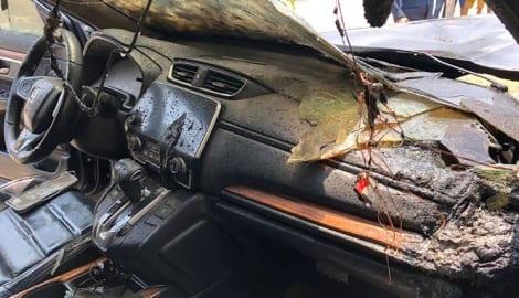 Vụ Honda CR-V bị cháy ở Nam Định: Hãng cho kỹ thuật viên đến tìm hiểu