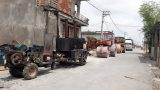 Công an vào cuộc vụ con đường 7 tỷ ở Nam Định dùng tay cậy được đá lên