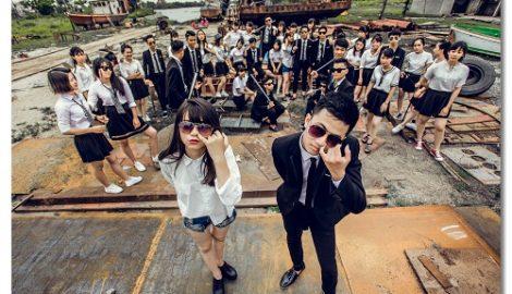 """Nam Định: Bộ ảnh kỷ yếu """"Bụi đời Chợ Lớn"""" """"náo loạn"""" facebook"""