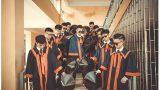 Lạ mắt với bộ kỷ yếu sặc mùi hắc ám của học sinh THPT Tống Văn Trân Nam Định
