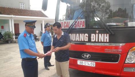 Nam Định: Kiểm tra 318 phương tiện giao thông, 226 phương tiện vi phạm