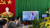 Nam Định: Nhận hỗ trợ thiết bị SmartROOM phục vụ dạy và học trực tuyến