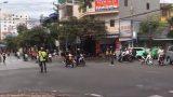 Nam Đinh: Clip Phượt thủ chặn ngã tư để ưu tiên đoàn xe là trái luật?